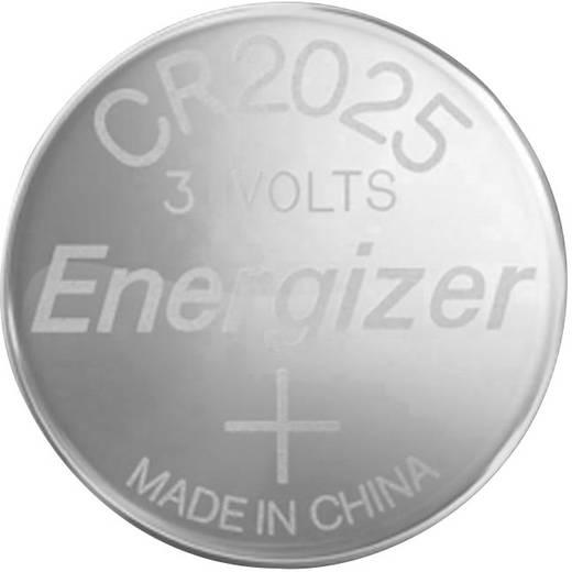 knopfzelle cr 2025 lithium energizer cr2025 163 mah 3 v 1 st. Black Bedroom Furniture Sets. Home Design Ideas
