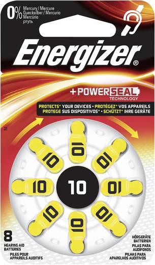 Knopfzelle ZA 10 Zink-Luft Energizer Piles pour appareils auditifs PR70 91 mAh 1.4 V 8 St.