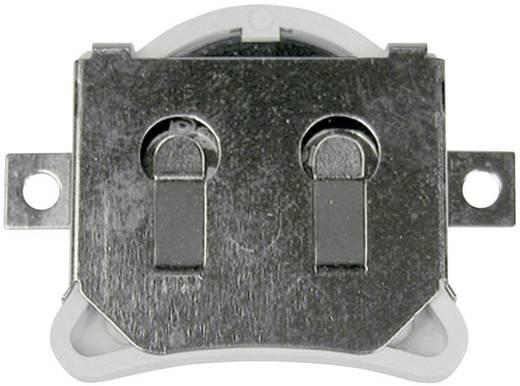 Knopfzellenhalter 1 CR 2032 Horizontal, Oberflächenmontage SMD (L x B x H) 33.40 x 24.80 x 4.32 mm MPD BHX1-2032-SM