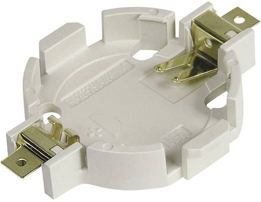 Knopfzellenhalter 1 CR 2032 Horizontal, Oberflächenmontage SMD (L x B x H) 33.15 x 23.90 x 5.20 mm MPD BU2032SM-JJ-MINI-