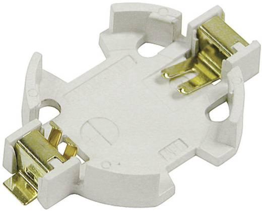 Knopfzellenhalter 1 CR 2032 Horizontal, Oberflächenmontage SMD (L x B x H) 31.7 x 20 x 5.3 mm MPD BU2032SM-JJ-GTR
