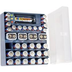 Box na alkalické baterky vr. 18x AA, 14x AAA, 4x 9 V baterií a skúšačkou