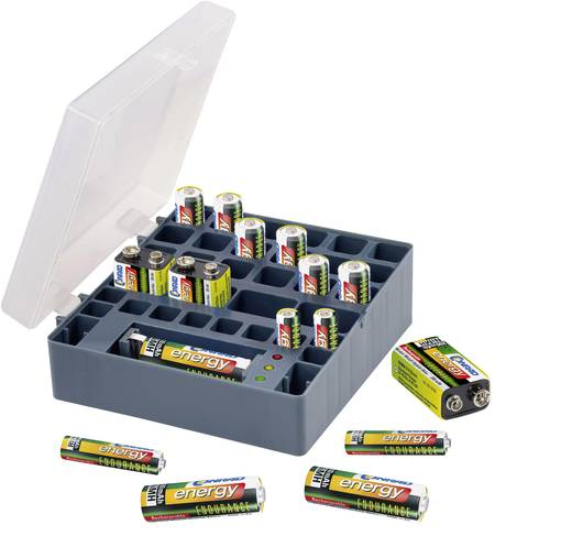 Conrad energy Akku-Set 9 V Block, Micro, Mignon 10 St. inkl. Box
