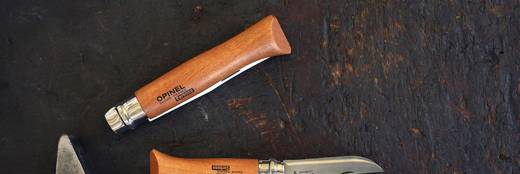 Taschenmesser Opinel No10 254010 Holz, Chrom