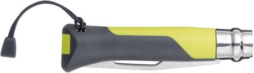 Outdoormesser mit Fangriemen Opinel No8 Outdoor 254270 Gelb