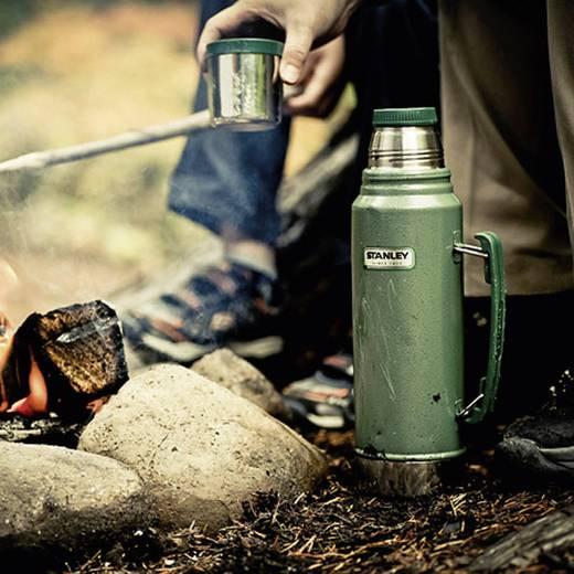 Thermoflasche Stanley Vakuum-Flasche, 1 l Grün 1000 ml 10-01032-001