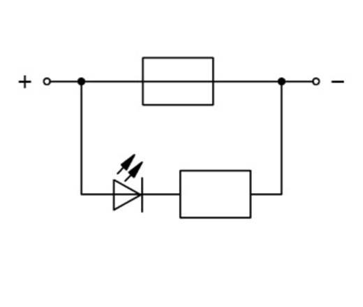 Sicherungsklemme 5.20 mm Zugfeder Grau WAGO 2002-1981/1000-435 50 St.