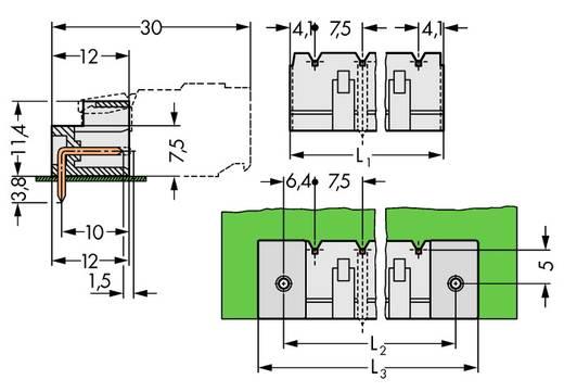 Stiftleiste (Standard) 2060 Polzahl Gesamt 5 WAGO 721-865/001-000 Rastermaß: 7.50 mm 100 St.
