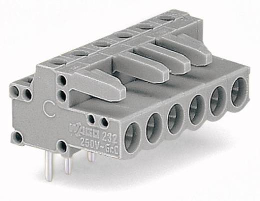 WAGO Buchsengehäuse-Platine 232 Polzahl Gesamt 20 Rastermaß: 5 mm 232-250 10 St.