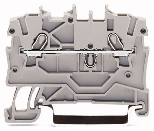 Durchgangsklemme 3.50 mm Zugfeder Orange WAGO 2000-1202 100 St.
