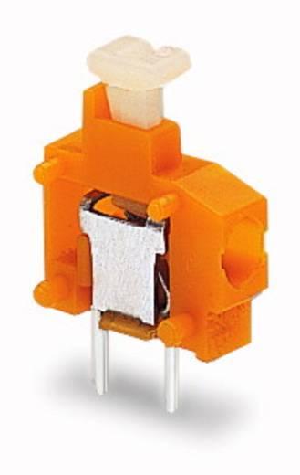 Federkraftklemmblock 1.50 mm² Polzahl 1 WAGO Weiß 800 St.