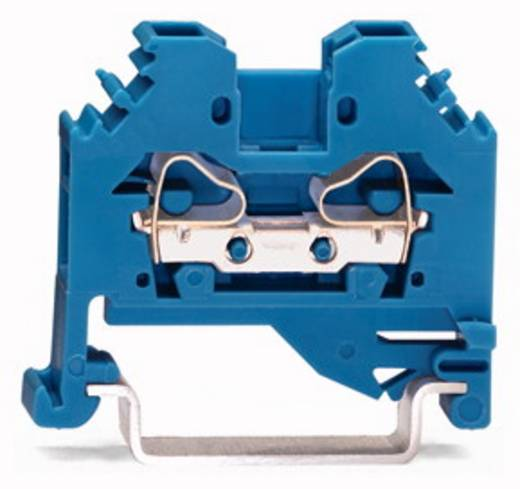 Durchgangsklemme 6 mm Zugfeder Belegung: N Blau WAGO 281-104 100 St.