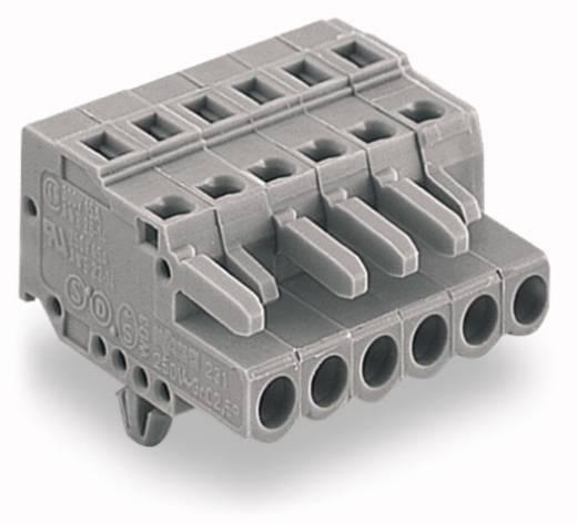 Buchsengehäuse-Kabel 231 Polzahl Gesamt 11 WAGO 231-111/008-000 Rastermaß: 5 mm 25 St.