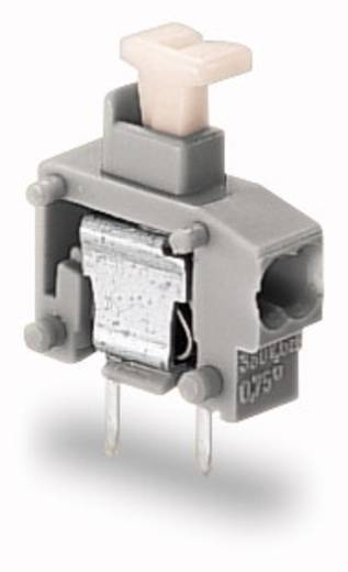 Federkraftklemmblock 0.50 mm² Polzahl 1 235-711/333-000 WAGO Grau 800 St.