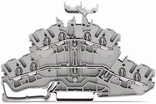 Doppelstock-Durchgangsklemme 5.20 mm Zugfeder Belegung: L, L Grau WAGO 2002-2431 50 St.
