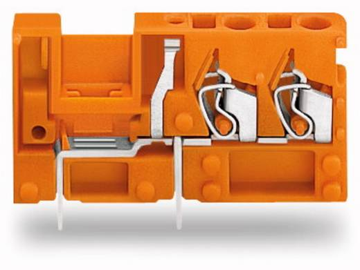 Federkraftklemmblock 2.50 mm² Polzahl 1 WAGO Orange 200 St.