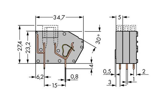 Sicherungsklemme Grau WAGO 742-111 Inhalt: 300 St.