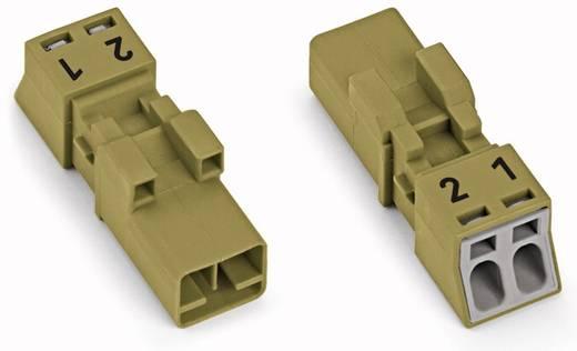Netz-Steckverbinder Serie (Netzsteckverbinder) WINSTA MINI Stecker, gerade Gesamtpolzahl: 2 16 A Hellgrün WAGO 50 St.