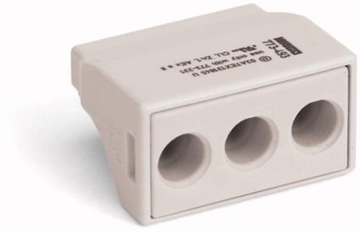 Dosenklemme starr: 2.5-6 mm² Polzahl: 3 WAGO 773-493 500 St. Lichtgrau