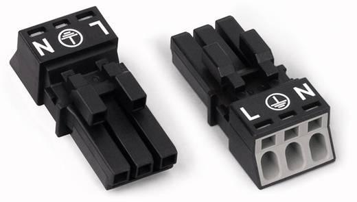 Netz-Steckverbinder Serie (Netzsteckverbinder) WINSTA MINI Buchse, gerade Gesamtpolzahl: 3 16 A Weiß WAGO 50 St.