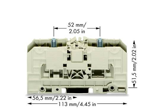 Hochstromklemme 27 mm Bolzenanschluss Grau WAGO 400-490/490-001 5 St.