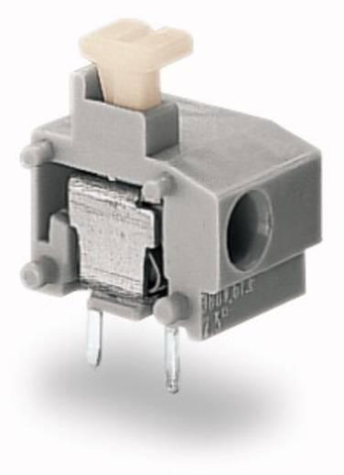 Federkraftklemmblock 0.75 mm² Polzahl 1 WAGO Grau 400 St.