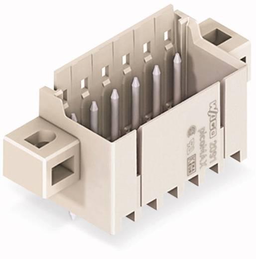 WAGO Stiftgehäuse-Platine 2091 Polzahl Gesamt 4 Rastermaß: 3.50 mm 2091-1404/005-000 200 St.