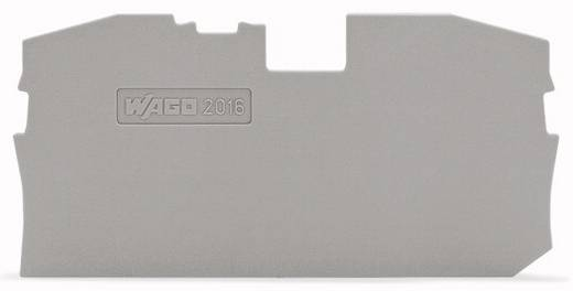 Abschluss- und Zwischenplatte 2016-1291 WAGO Inhalt: 100 St.