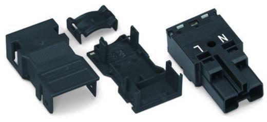 Netz-Steckverbinder Serie (Netzsteckverbinder) WINSTA MIDI Stecker, gerade Gesamtpolzahl: 2 25 A Weiß WAGO 25 St.