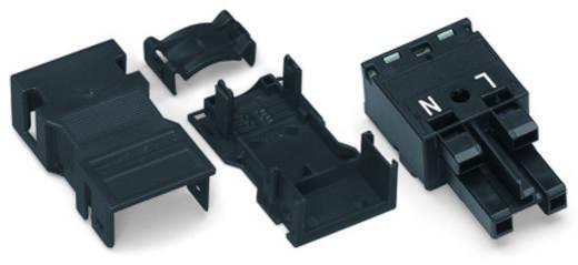 Netz-Steckverbinder Serie (Netzsteckverbinder) WINSTA MIDI Buchse, gerade Gesamtpolzahl: 2 25 A Schwarz WAGO 25 St.