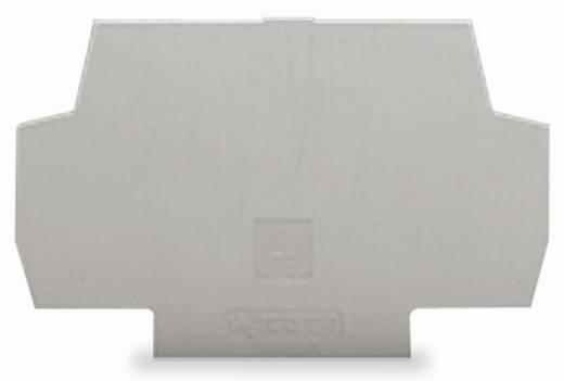 Abschlussplatte Grau 100 St. WAGO 859-525