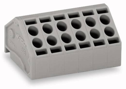 Federkraftklemmblock 1.50 mm² Polzahl 10 WAGO Grau 80 St.