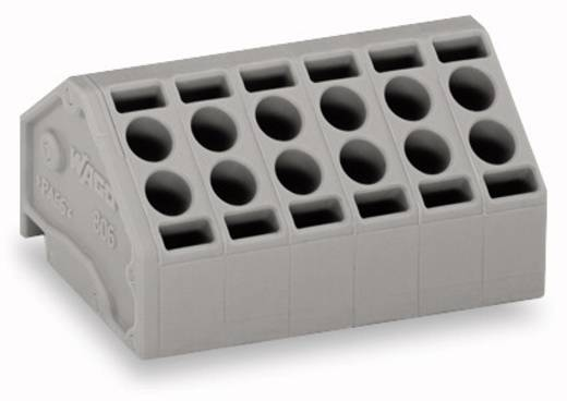 Federkraftklemmblock 1.50 mm² Polzahl 3 WAGO Grau 250 St.