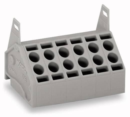 Federkraftklemmblock 1.50 mm² Polzahl 4 WAGO Grau 200 St.