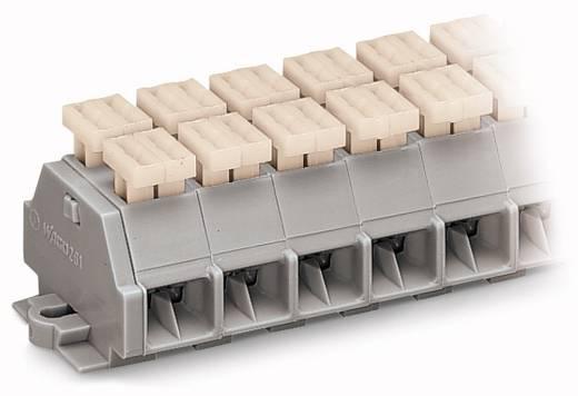 Klemmenleiste 10 mm Zugfeder Belegung: L Grau WAGO 261-208/342-000 50 St.