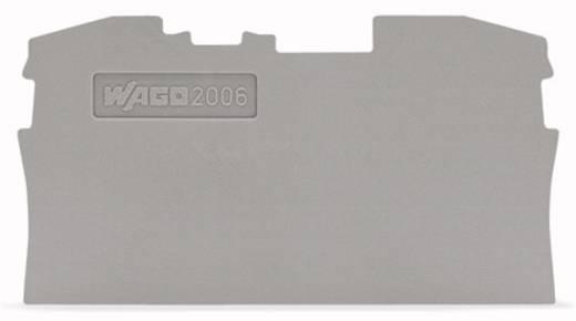 Abschluss- und Zwischenplatte 2006-1291 WAGO Inhalt: 100 St.