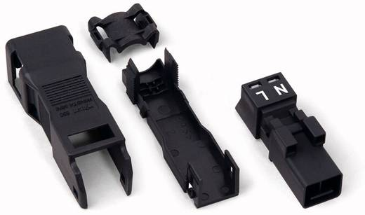 Netz-Steckverbinder Serie (Netzsteckverbinder) WINSTA MINI Stecker, gerade Gesamtpolzahl: 2 16 A Schwarz WAGO 890-112 5