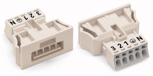Netz-Steckverbinder WINSTA MINI Serie (Netzsteckverbinder) WINSTA MINI Stecker, gerade Gesamtpolzahl: 5 13 A Schwarz WAG