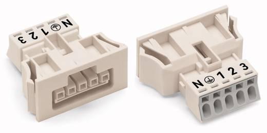 Netz-Steckverbinder Serie (Netzsteckverbinder) WINSTA MINI Buchse, gerade Gesamtpolzahl: 5 13 A Weiß WAGO 890-725/006-0
