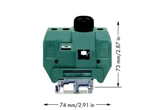 Sicherungsklemme 24 mm Schrauben Grau WAGO 400-416/416-298 10 St.