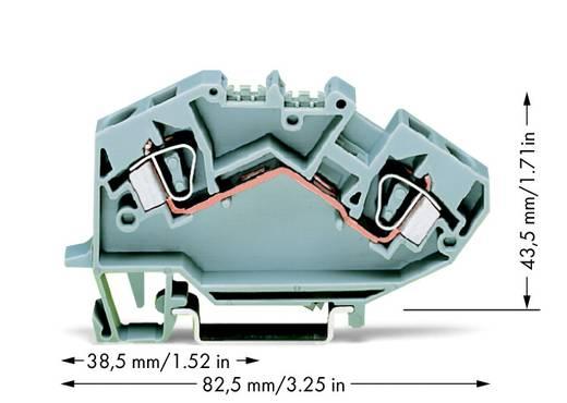 Durchgangsklemme 8 mm Zugfeder Belegung: L Grau WAGO 782-601 25 St.