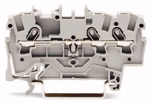 Durchgangsklemme 4.20 mm Zugfeder Schwarz WAGO 2001-1305 100 St.