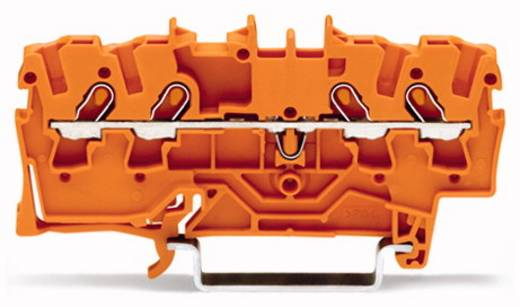 Durchgangsklemme 4.20 mm Zugfeder Orange WAGO 2001-1402 100 St.