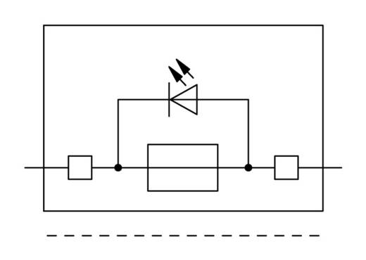 Sicherungsklemme 7.50 mm Zugfeder Grau WAGO 2006-1621/1000-542 25 St.