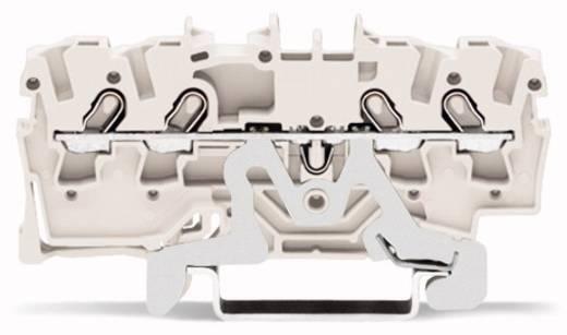 Schirmleiterklemme 4.20 mm Zugfeder Weiß WAGO 2001-1408 100 St.