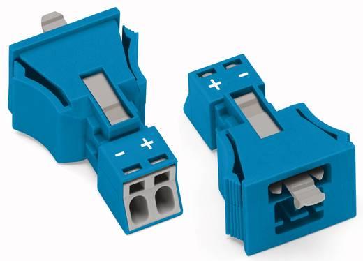 Netz-Steckverbinder Serie (Netzsteckverbinder) WINSTA MINI Stecker, gerade Gesamtpolzahl: 2 16 A Blau WAGO 890-2112 50
