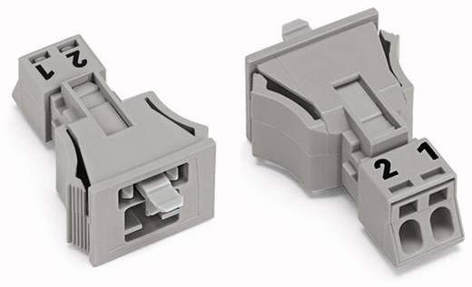 Netz-Steckverbinder WINSTA MINI Serie (Netzsteckverbinder) WINSTA MINI Stecker, gerade Gesamtpolzahl: 2 16 A Grau WAGO