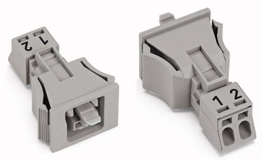 Netz-Steckverbinder Serie (Netzsteckverbinder) WINSTA MINI Buchse, gerade Gesamtpolzahl: 2 16 A Grau WAGO 50 St.