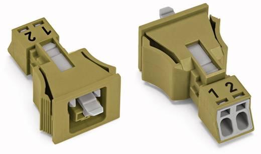 Netz-Steckverbinder Serie (Netzsteckverbinder) WINSTA MINI Buchse, gerade Gesamtpolzahl: 2 16 A Hellgrün WAGO 890-762 5