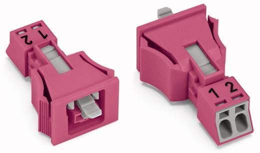 Netz-Steckverbinder WINSTA MINI Serie (Netzsteckverbinder) WINSTA MINI Buchse, gerade Gesamtpolzahl: 2 16 A Pink WAGO 5